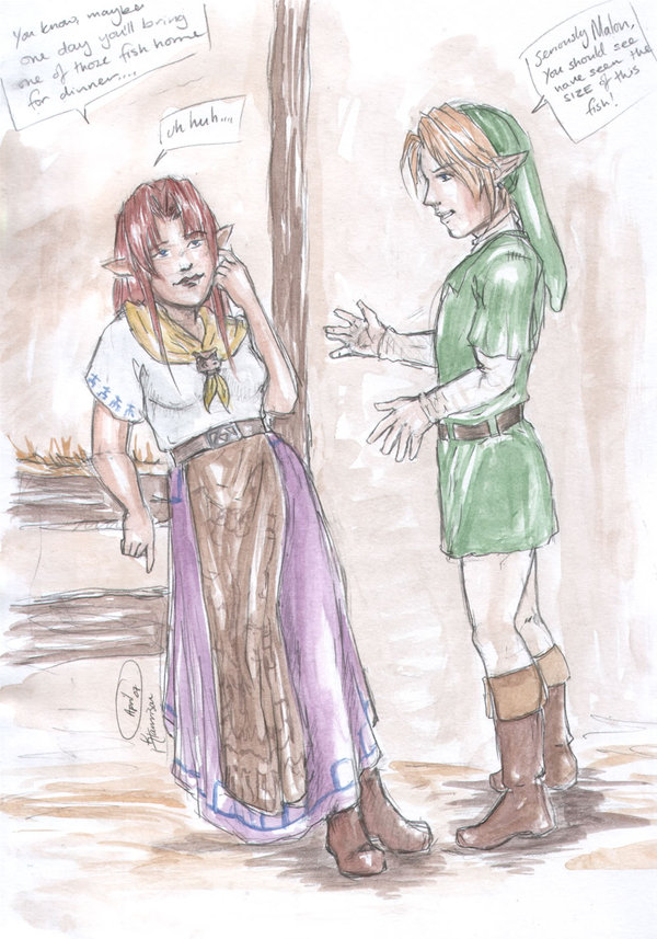The north castle zelda fan art gallery robyn greenbow